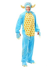 Blue Mini Monster Adult Costume