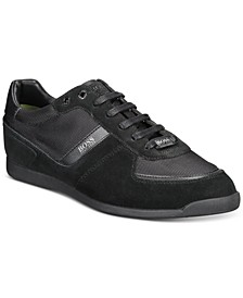 HUGO Men's Glaze Low-Profile Sneakers
