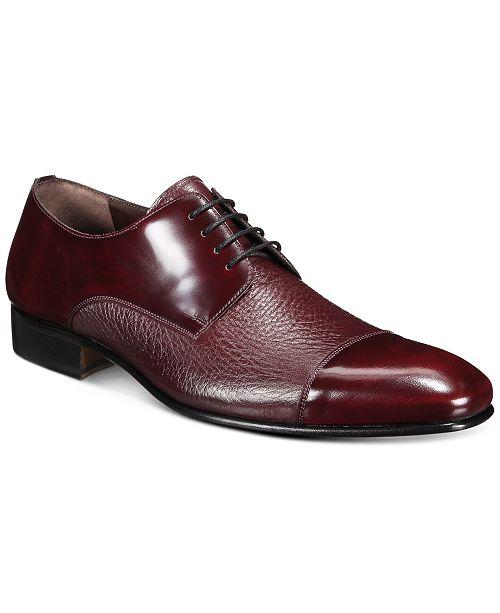 Mezlan Men's Mixed-Leather Oxford Shoes