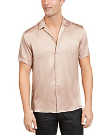INC Men's Satin Shirt, Created for Macy's