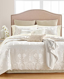 Martha Stewart Collection Chateau Antique Filigree 14-Pc. Queen Comforter Set, Created for Macys