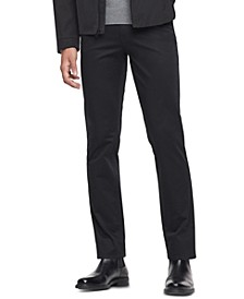 Men's Slim Fit Authentic Five Pocket Sateen Pants