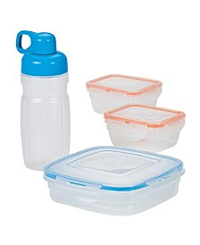 Easy Essentials 8-Pc. On the Go Meals Lunch Container Set