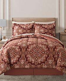 Aris Reversible 8-Pc. Comforter Sets