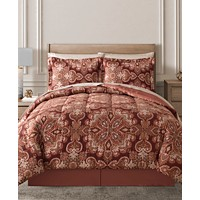 Deals on 8-Pc. Reversible Comforter Sets