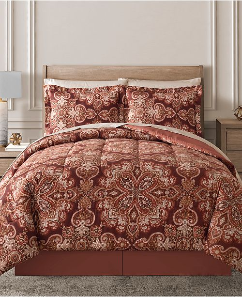 Fairfield Square Collection Aris Reversible 8-Pc. Comforter Sets