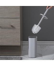 Bath Bliss Contemporary Acrylic Toilet Brush Set