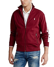 Men's Big & Tall Cotton Interlock Track Jacket