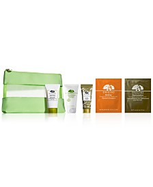 Receive a Free 6pc Skincare Gift with any $50 Origins Purchase (Up to a $59.20 value!)