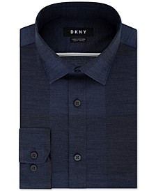 Men's Slim-Fit Stretch Kaihara Denim Dress Shirt