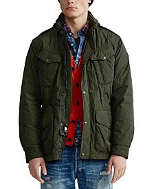 Polo Ralph Lauren Men's Modern Navy Aviator Jacket