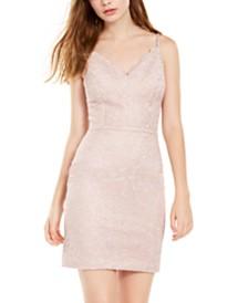 Morgan & Company Juniors' Lace Sheath Dress