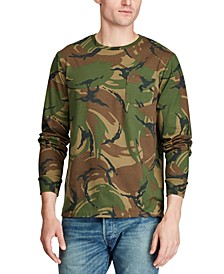 Men's Big & Tall Classic Fit Camo Long-Sleeve T-Shirt