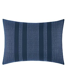 Nautica Candler Embroidered 12 x 20 Square Breakfast Pillow