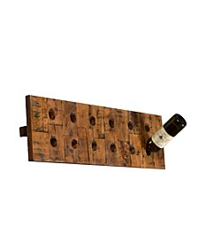 Wine O 12 Standard Wine Bottle Rack in Horizontal Orientation Finished in Rich Look