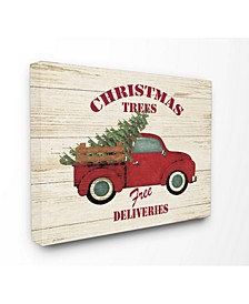Merry Christmas Vintage-Inspired Tree Truck Art Collection