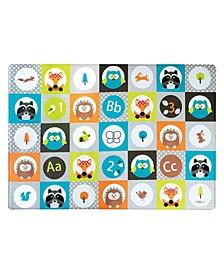 Bbluv Multi Reversible Playmat Tiles
