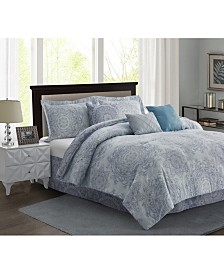 R2Zen Bungalow 7-Piece Comforter Set - King