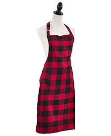 Plaid Design Kitchen Apron