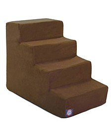 4 Steps Suede Pet Stairs