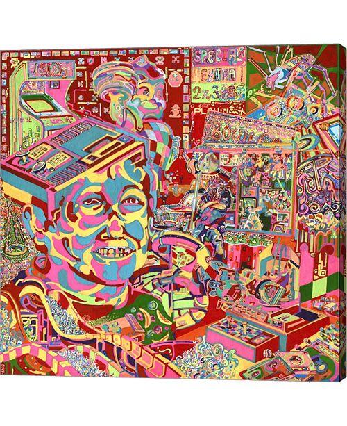 """Metaverse The Gamer Kid by Josh Byer Canvas Art, 24"""" x 24"""""""