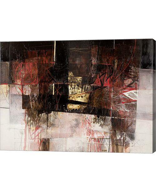 """Metaverse I Segni E La Materia by Giuliano Censini Canvas Art, 26.5"""" x 20"""""""