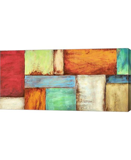 "Metaverse Colors of The Desert by Anne Munson Canvas Art, 32"" x 16"""