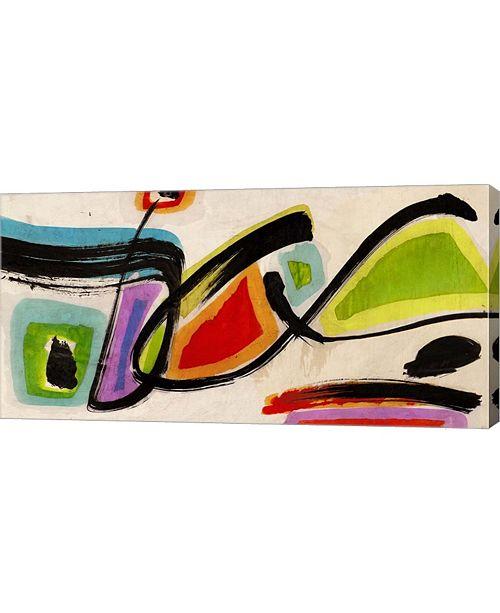 "Metaverse Butterflies by Teo Vals Perelli Canvas Art, 32"" x 16"""