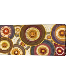 "Round-A-Bout II by Julie Joy Canvas Art, 32"" x 16"""