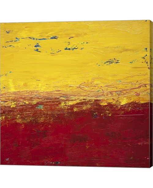 """Metaverse Lithosphere 102 by Hilary Winfield Canvas Art, 24.25"""" x 24"""""""