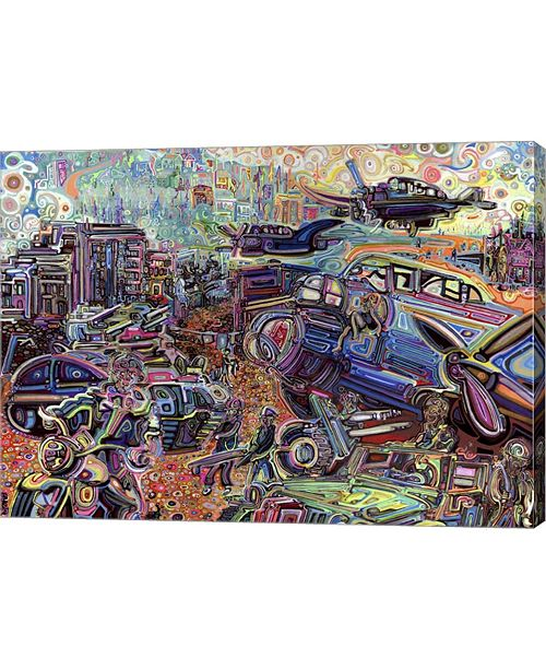 "Metaverse The Liberation of Ortona by Josh Byer Canvas Art, 27.5"" x 20"""