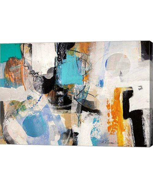 "Metaverse Jewels by Arthur Pima Canvas Art, 28"" x 20"""