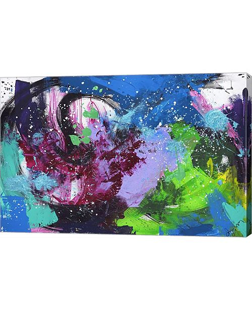 "Metaverse Abstract 1 by Lynn Canvas Art, 30"" x 20"""
