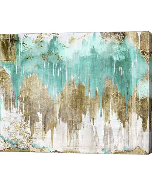 """Metaverse Opulence Turquoise by Color Bakery Canvas Art, 28.75"""" x 24"""""""