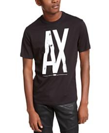 A|X Armani Exchange Men's Floral Logo T-Shirt