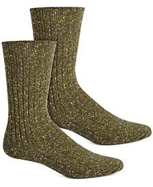 Women's Tweed Ribbed Boot Socks