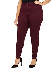Plus Size Original Smooth Denim Leggings, Created for Macy's