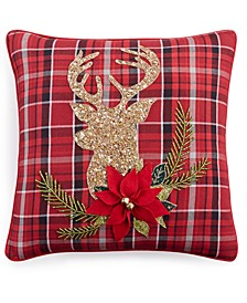 "Holiday 20"" x 20"" Decorative Pillow"