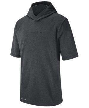 Nike Men's Georgia Bulldogs Dri-fit Hooded T-Shirt