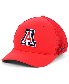 Nike Arizona Wildcats Aerobill Mesh Stretch Fitted Cap