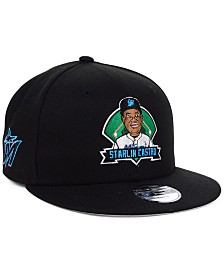 New Era Big Boys Starlin Castro Miami Marlins Lil Player 9FIFTY Snapback Cap
