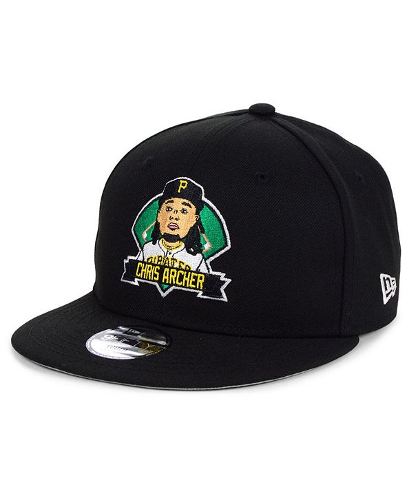 New Era Big Boys Chris Archer Pittsburgh Pirates Lil Player 9FIFTY Snapback Cap