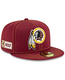 Washington Redskins On-Field Sideline Road 59FIFTY-FITTED Cap