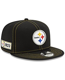 Pittsburgh Steelers On-Field Sideline Road 9FIFTY Cap