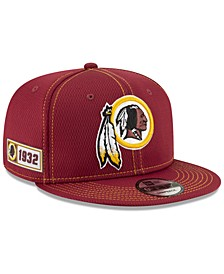 Washington Redskins On-Field Sideline Road 9FIFTY Cap