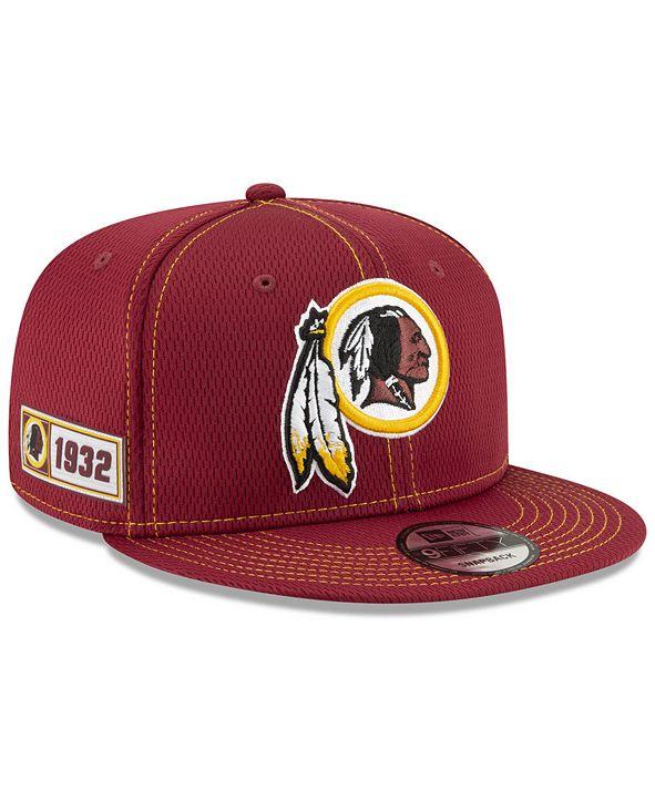 New Era Washington Redskins On-Field Sideline Road 9FIFTY Cap