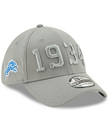 New Era Detroit Lions On-Field Alt Collection 39THIRTY Stretch Fitted Cap