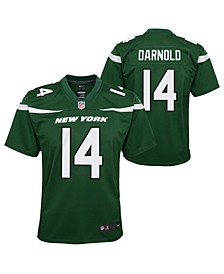 Big Boys Sam Darnold New York Jets Game Jersey