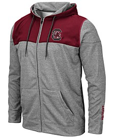 Men's South Carolina Gamecocks Nelson Full-Zip Hooded Sweatshirt