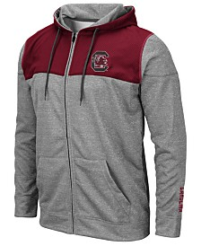 Colosseum Men's South Carolina Gamecocks Nelson Full-Zip Hooded Sweatshirt